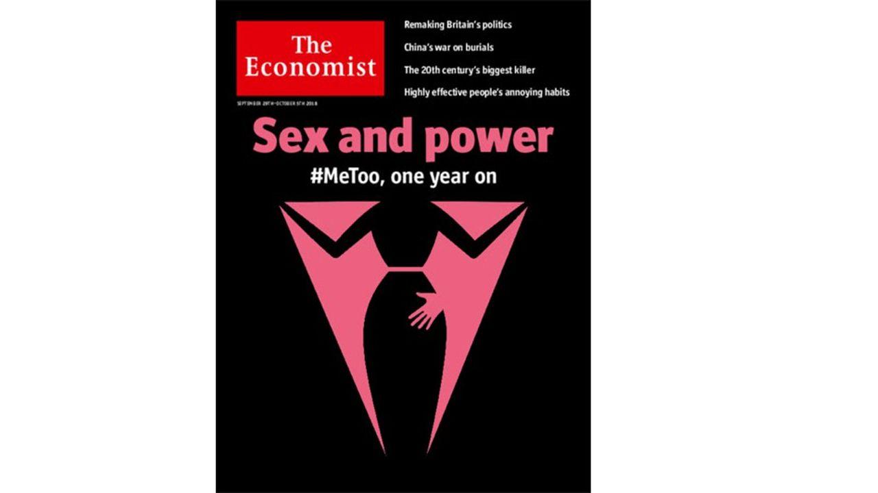 « The Economist » consacre sa une au premier anniversaire du mouvement #MeToo.