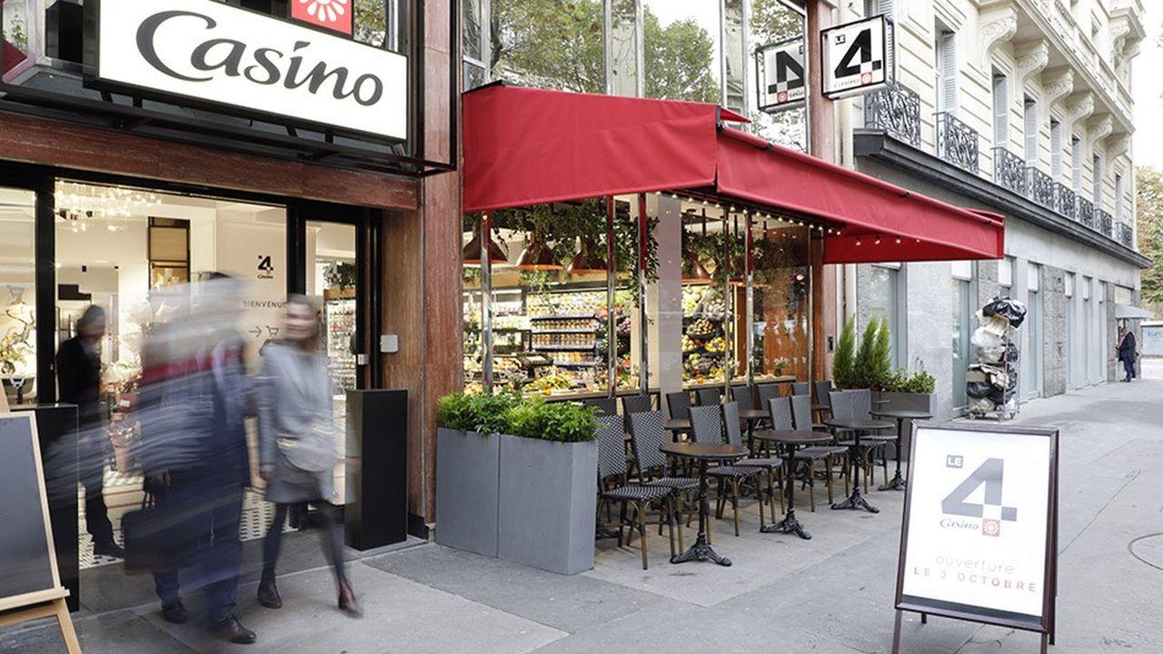 Le 4 Casino, situé près des Champs-Elysées, sera ouvert 24heures sur 24.