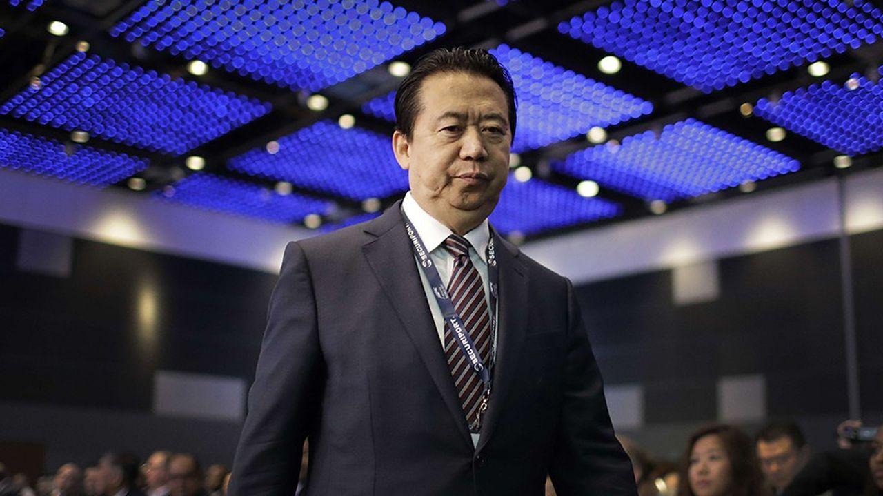 Le président d'Interpol, Meng Hongwei, le 4juillet 2017.