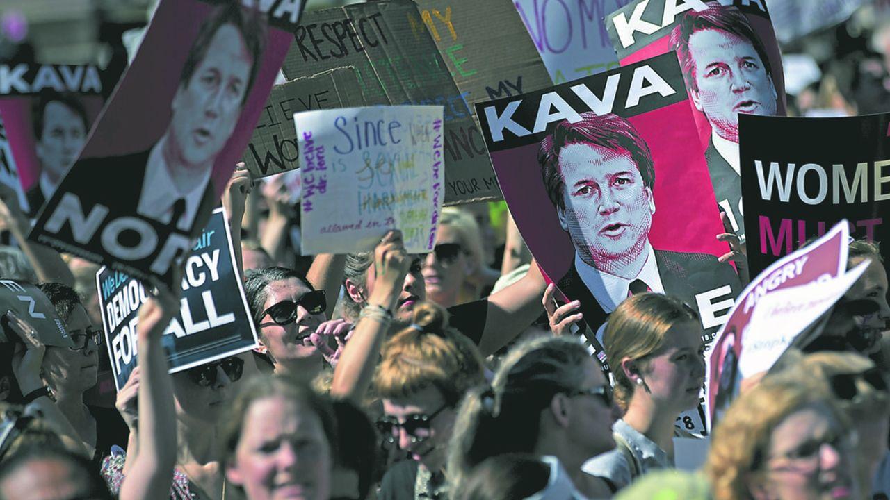 Le processus de confirmation du juge Brett Kavanaugh, accusé d'agressions sexuelles par plusieurs femmes, a profondément divisé la société américaine.