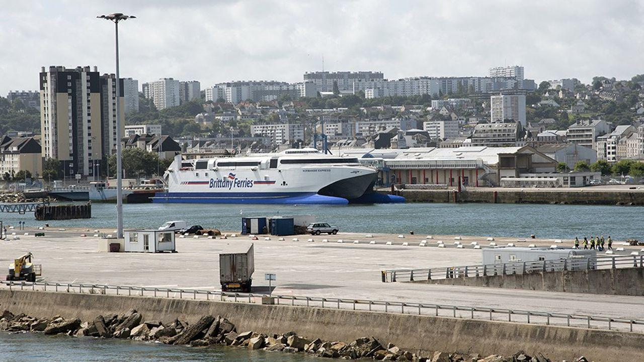 Brittany Ferries travaille à un éventuel report de son trafic marchandises depuis l'Irlande vers le port de Cherbourg.