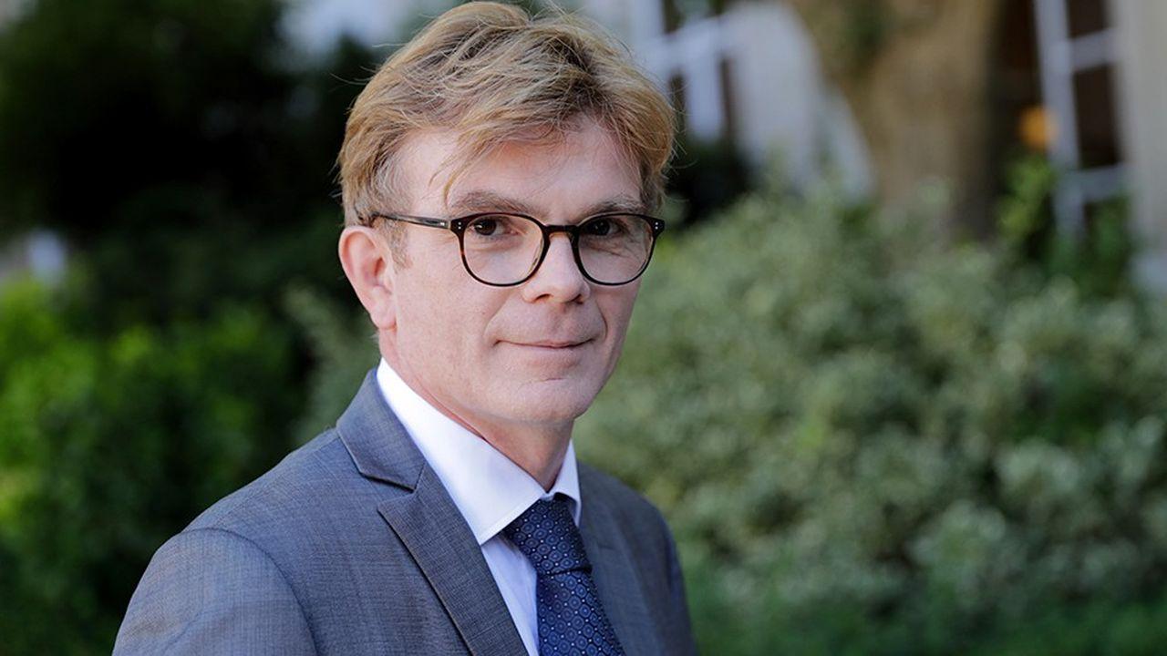 Marc Fesneau a été nommé ministre chargé des Relations avec le Parlement, en remplacement de Christophe Castaner