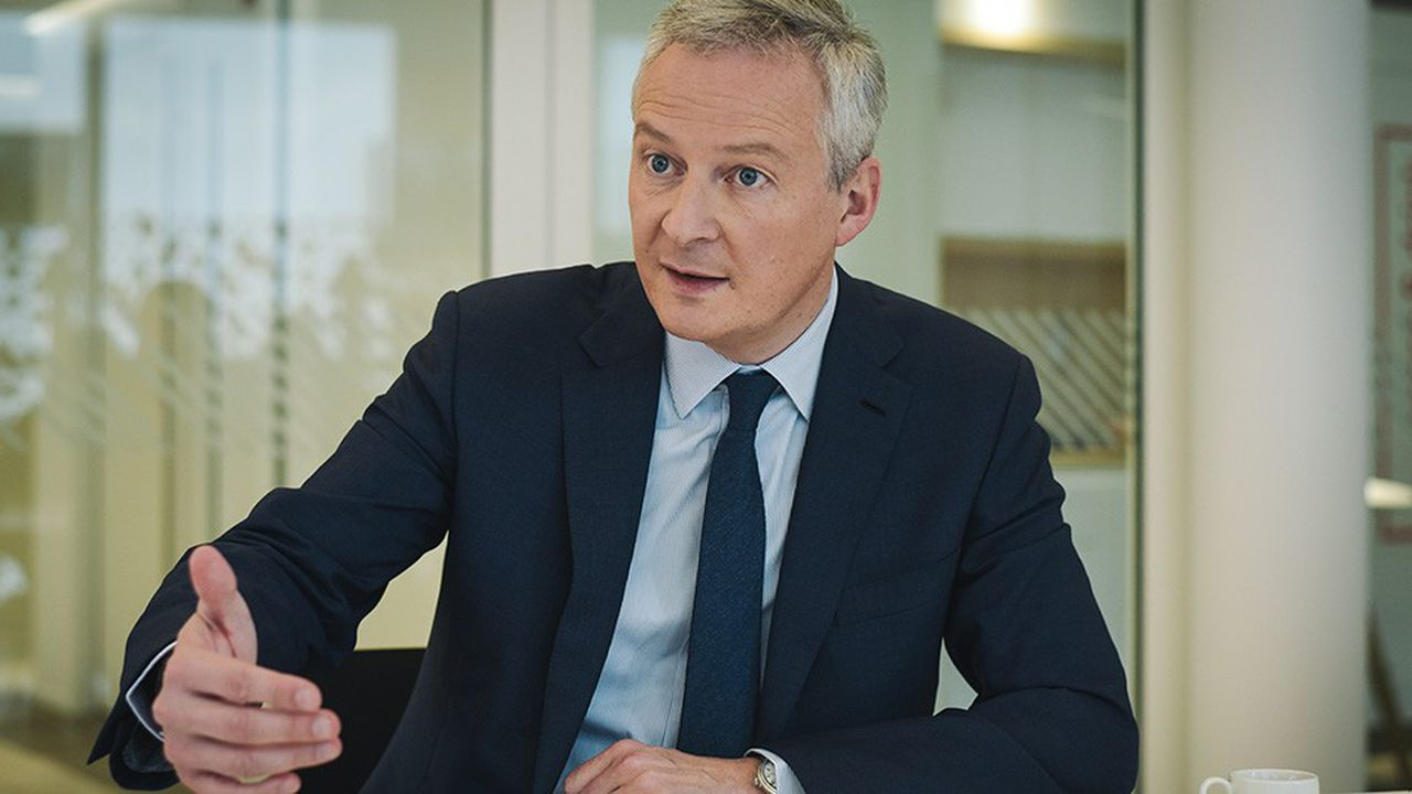 Bruno Le Maire, ministre des Finances, lors du French German Business Forum organisé au siège des « Echos » le 9 novembre 2018.