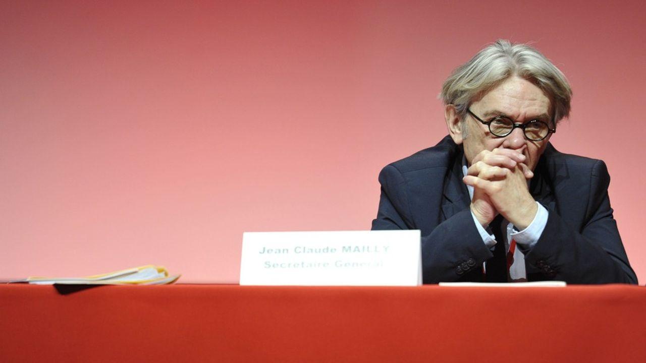 Jean-Claude Mailly a quitté la tête de FO en avril2018.