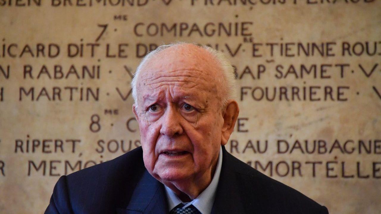 Jean-Paul Gaudin est maire de Marseille depuis vingt-trois ans.