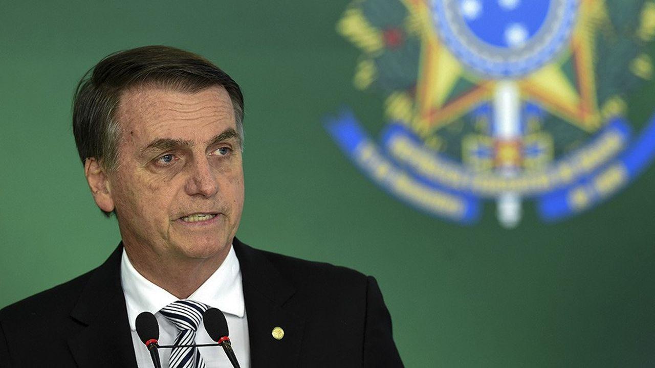 Le président élu du Brésil, Jair Bolsonaro.
