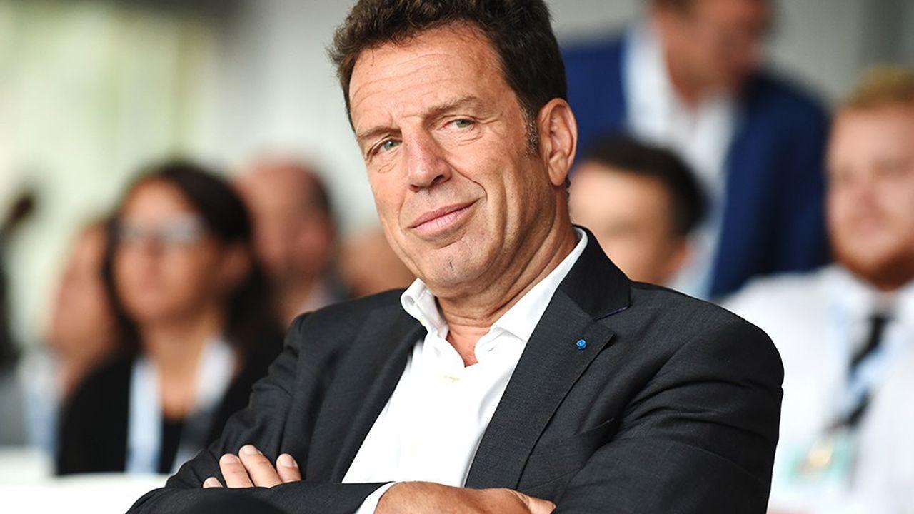 Geoffroy Roux de Bézieux, le président du Medef.