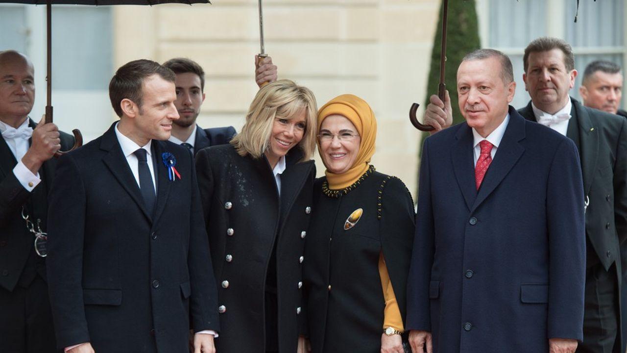 Lors de son passage à Paris, le président turc a fait écouter l'enregistrement du meurtre du journaliste saoudien à tous ses alliés