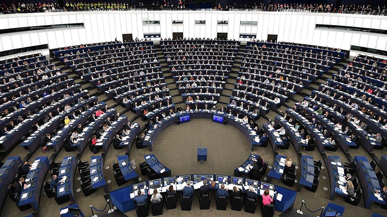 Session plénière du Parlement européen.