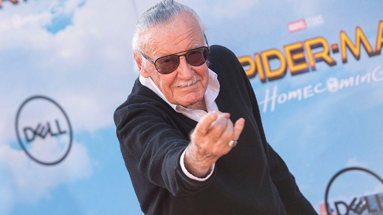 Stan Lee en 2017 à une avant-première de «Spider-Man».