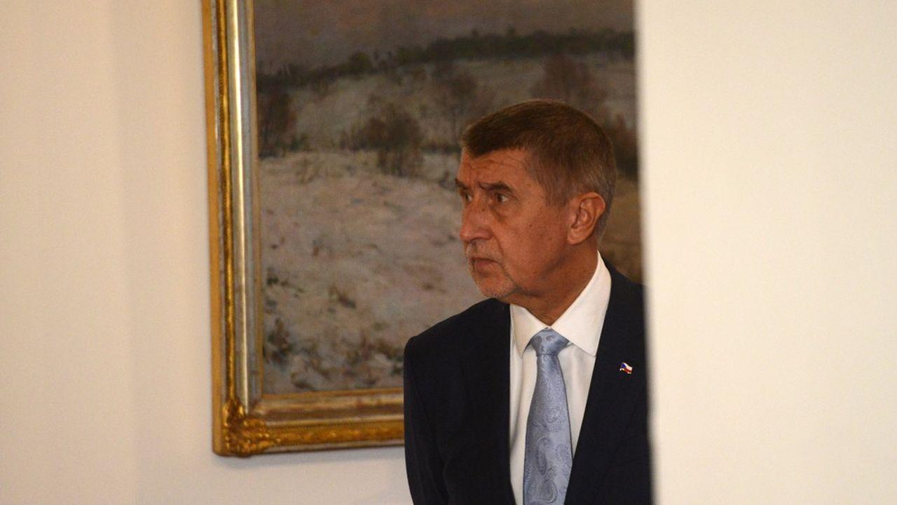 Le Premier ministre tchèque et patron du conglomérat agroalimentaire Agrofert, Andrej Babis, est visé par une enquête pour fraude depuis 2016.