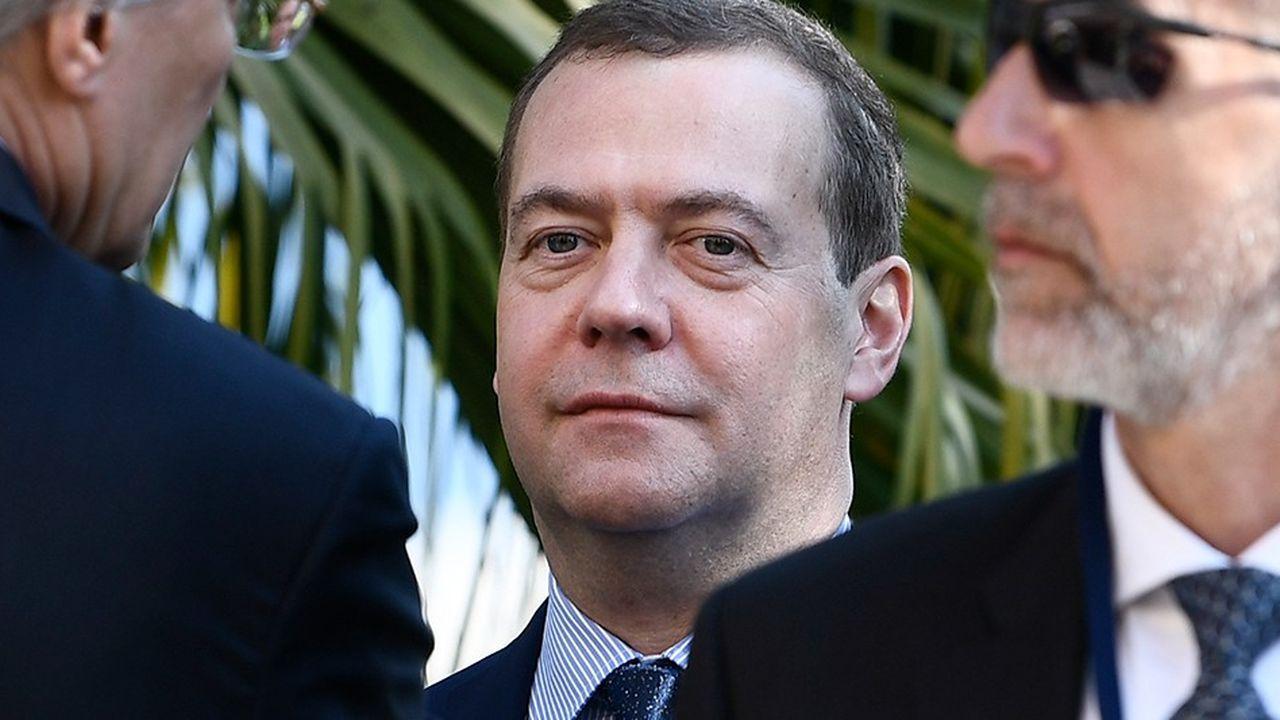 Le Premier ministre russe, Dmitry Medvedev.
