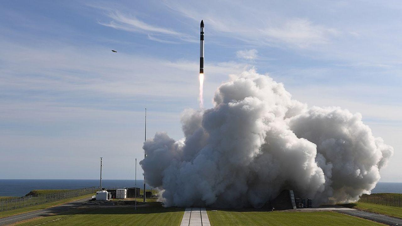 La mini-fusée de Rocket Lab a réalisé son premier vol commercial le 11novembre 2018