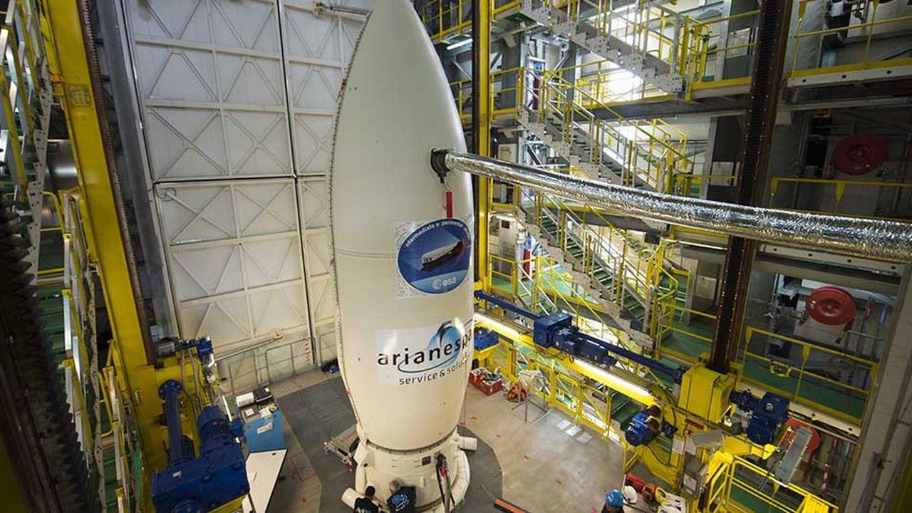 Le lanceur Vega qui met en orbite des satellites d'observation de la terre en orbite basse et moyenne effectuera son treizième vol de Kourou le 20novembre.