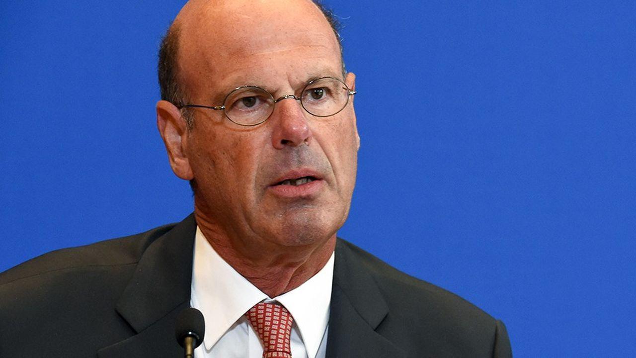 Eric Lombard consolide la banque des territoires avec la SFIL. (Photo by ERIC PIERMONT/AFP)