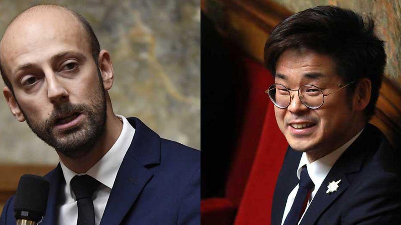 Avant l'élection du 1erdécembre, Stanislas Guérini, qui fait figure de favori, et Joachim Son-Forget devront encore passer deux grands oraux