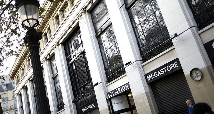 Les Galeries Lafayette s'installeront au printemps 2019 dans les anciens locaux de Virgin Megastore.