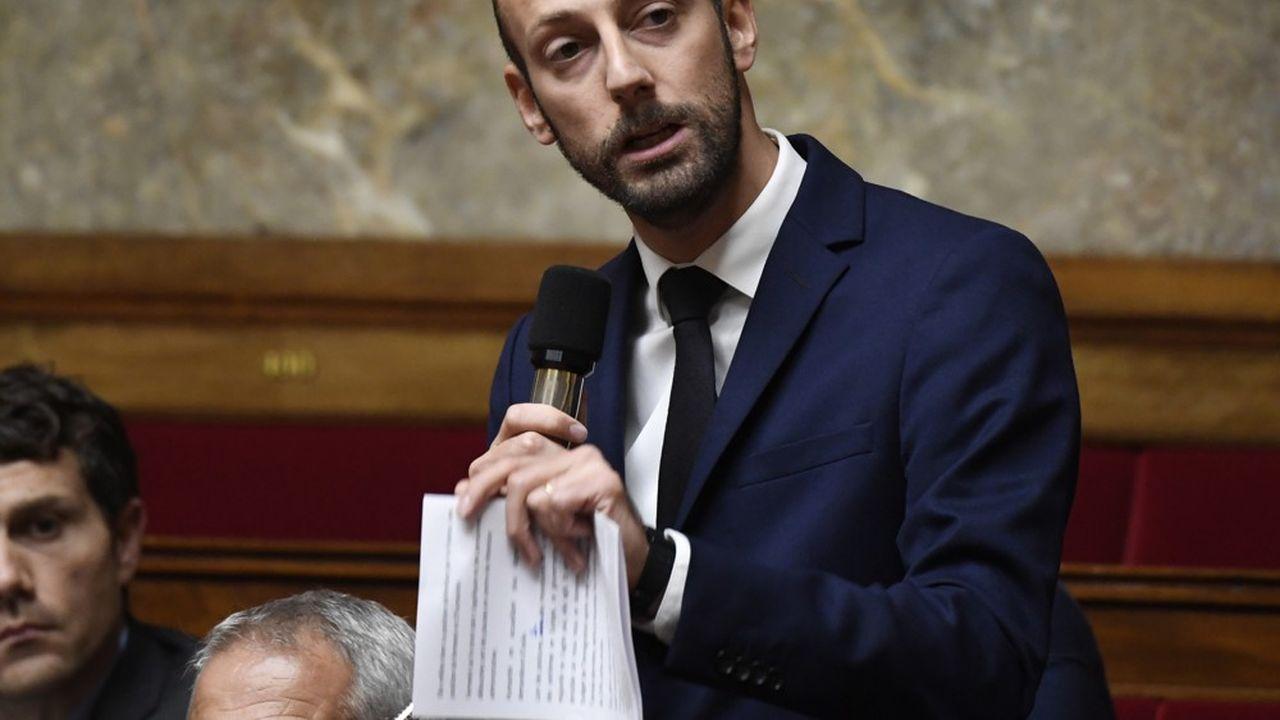 Stanislas Guerini, proche d'Emmanuel Macron et défenseur d'un projet d'«ouverture» à la fois «politique» et «sociologique».