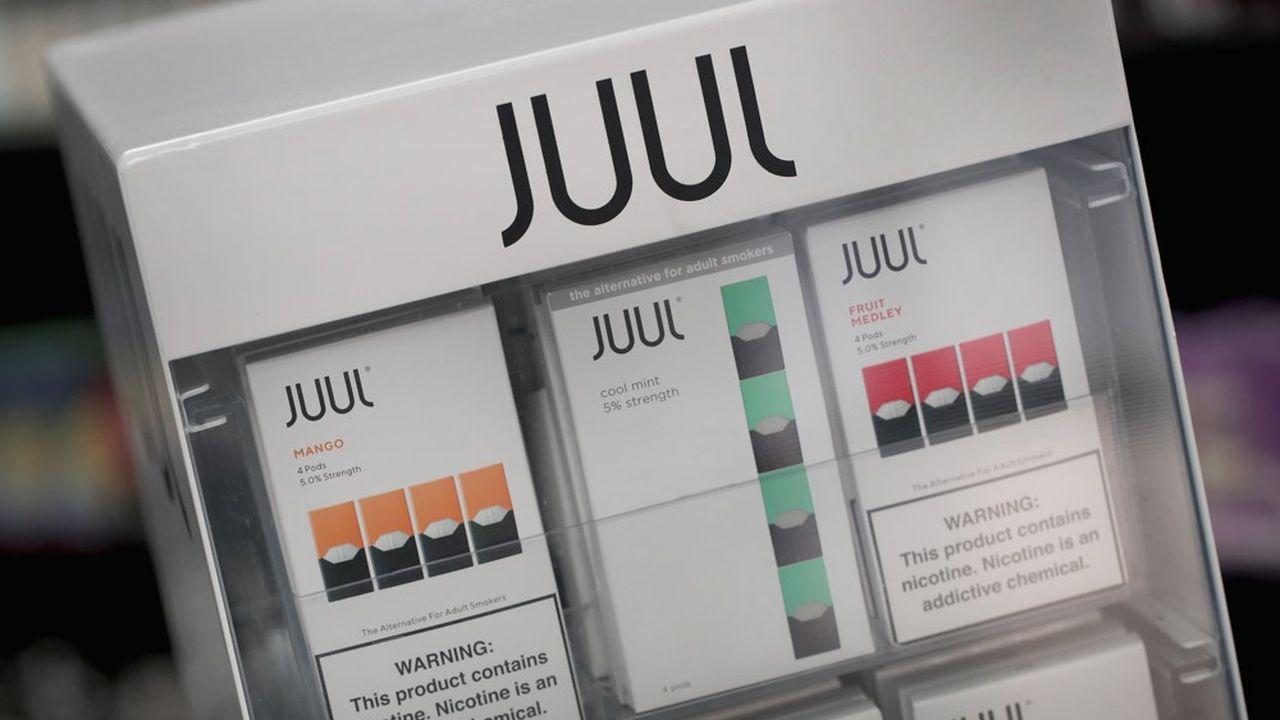 Les arômes fruités comme la mangue représentent près de la moitié des ventes du spécialiste de la e-cigarette