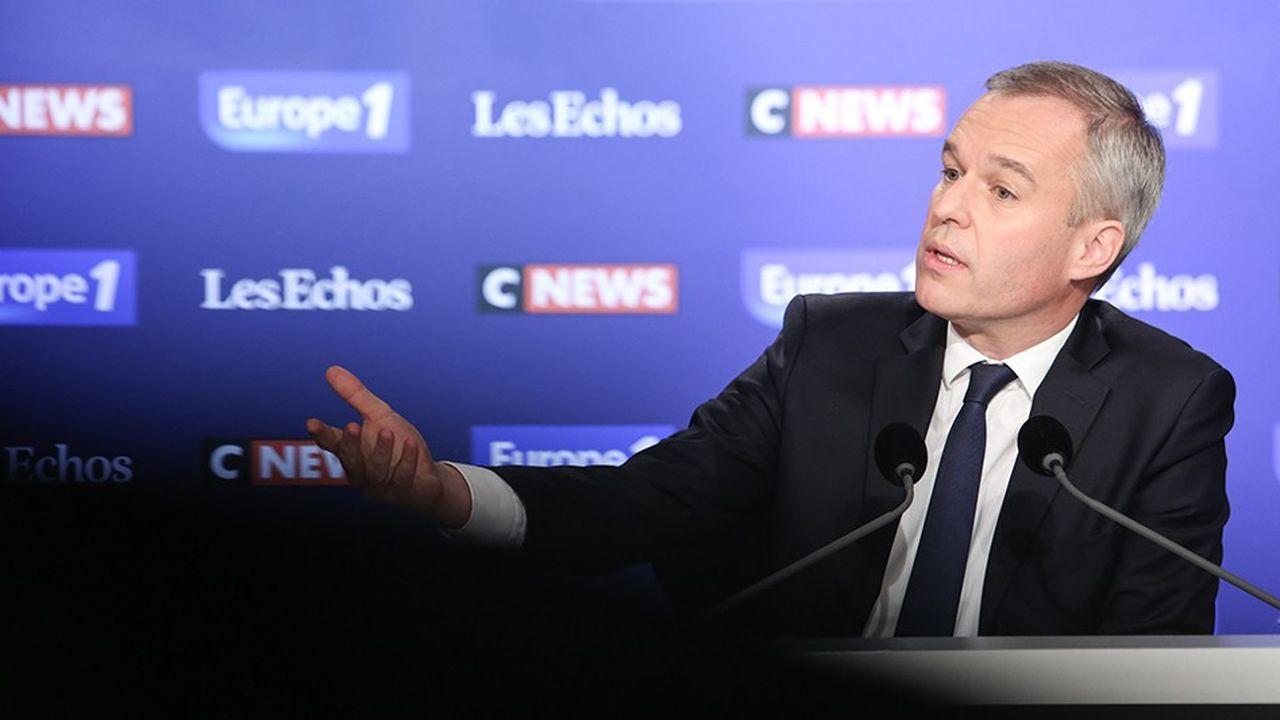 L'EPR, qui conditionne la place que va occuper le nucléaire,« n'a pas encore démontré sa fiabilité, sa sécurité et sa compétitivité », a estimé dimanche François de Rugy, le ministre de la Transition Ecologique,invité du Grand Rendez-Vous d'Europe 1 - CNews - Les Echos.