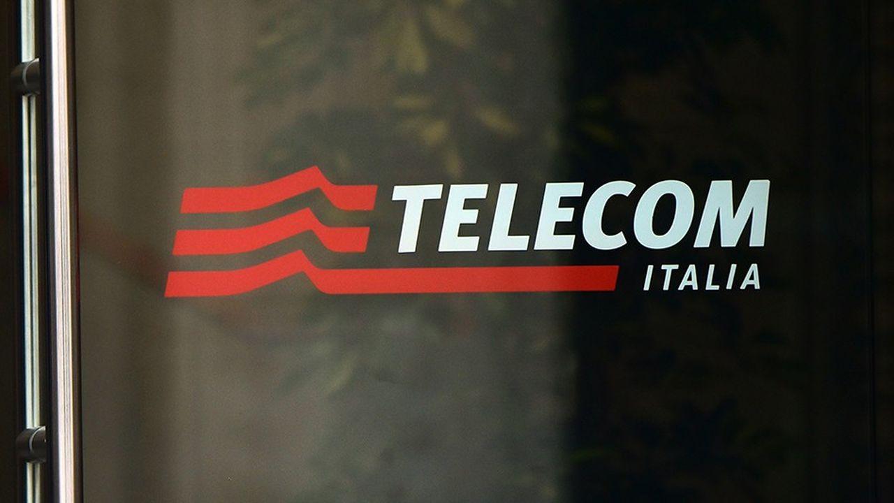 Telecom Italiaa pour premier actionnaire le groupe Vivendi.