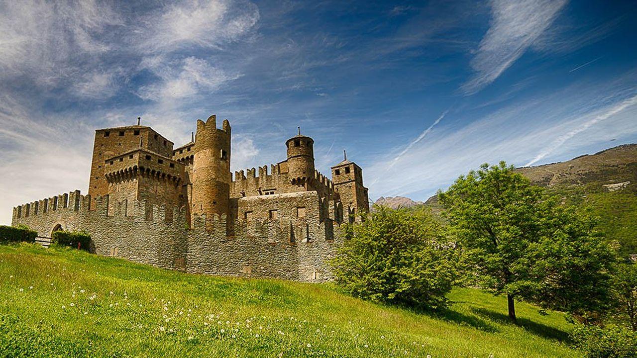 Parmi les biens mis en vente par l'Etat italien, on trouve des îles, des couvents et des châteaux
