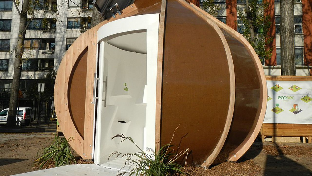 Ecosec a inventé unenouvelle génération de toilettes sèches.
