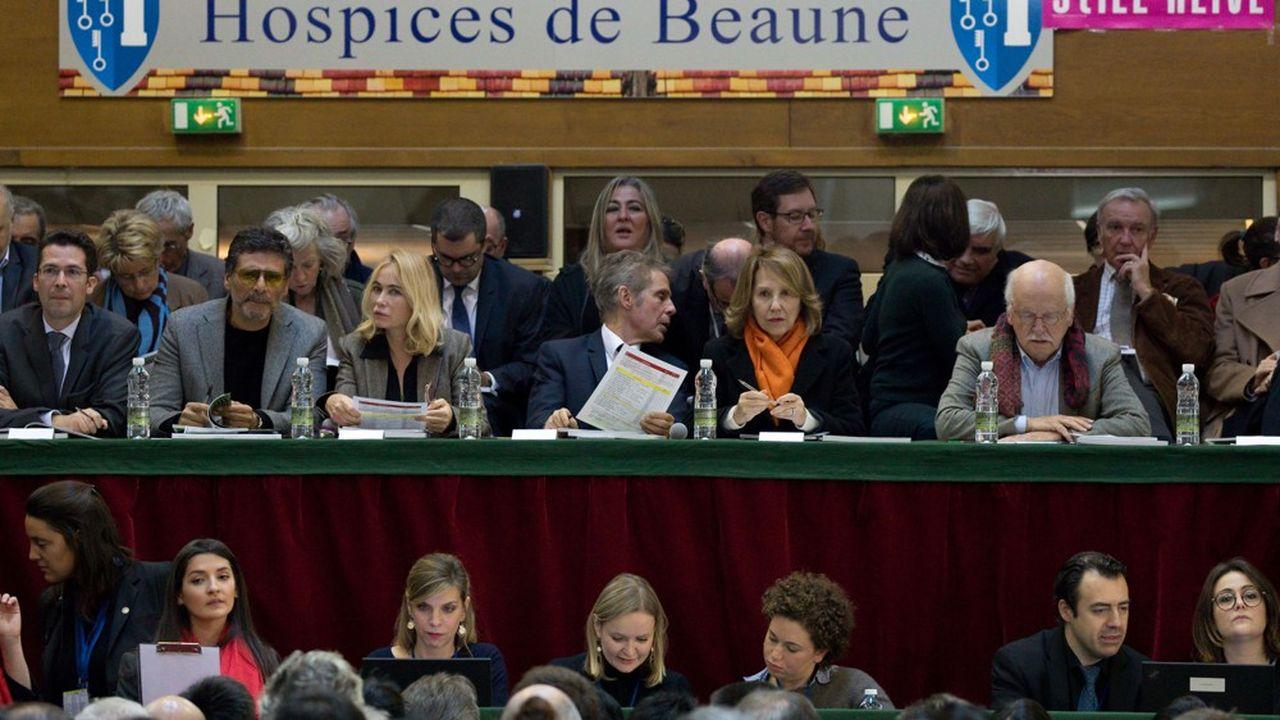 En dépit des efforts de parrains prestigieux (Pascal Elbe, Emmanuelle Beart, Nathalie Baye et Erik Orsenna), les deux «pièces des présidents» ont rapporté moins qu'en 2017
