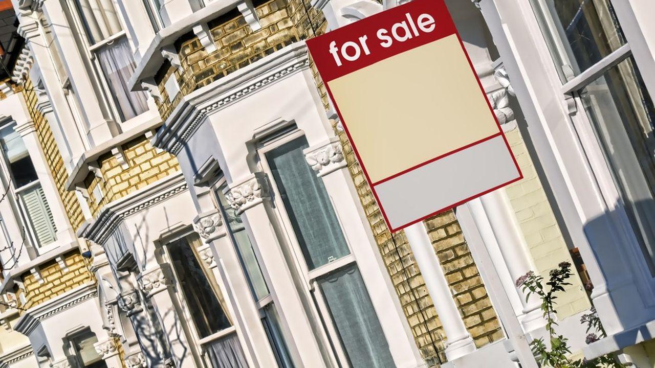 Dans le centre de Londres, la baisse atteint plus de 7%