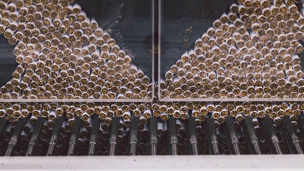 Le menthol représente un tiers des cigarettes vendues aux Etats-Unis, soit 80milliards d'unités par an.