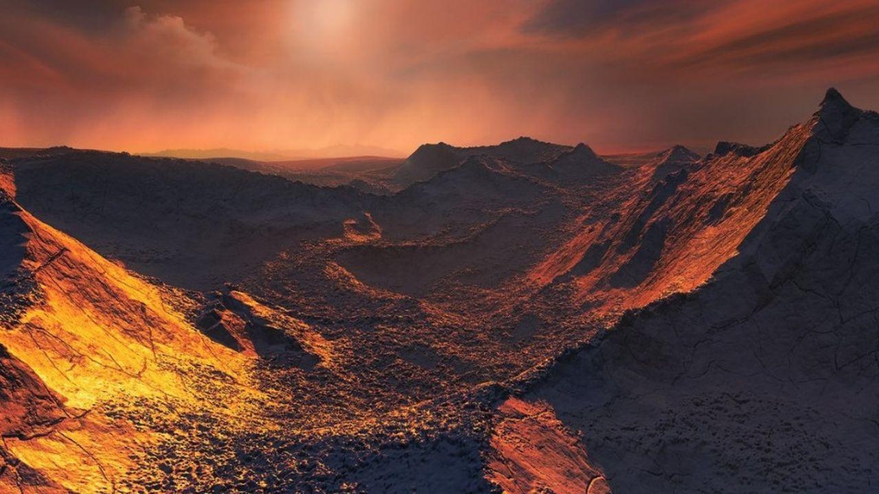 Il s'agit de la deuxième exoplanète la plus proche de notre système solaire après Proxima b