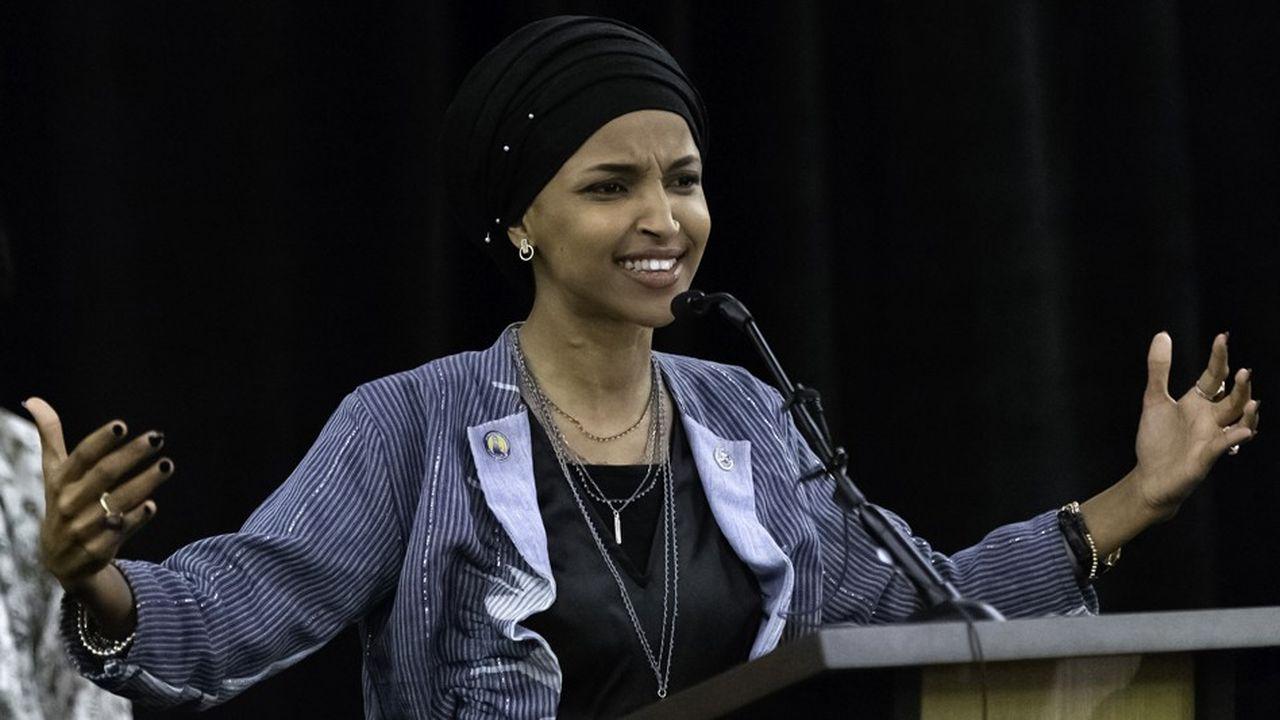 La démocrate Ilhan Omar, l'une des deux premières musulmanes élues à la Chambre des représentants, s'est engagée pour la fin de cette interdiction