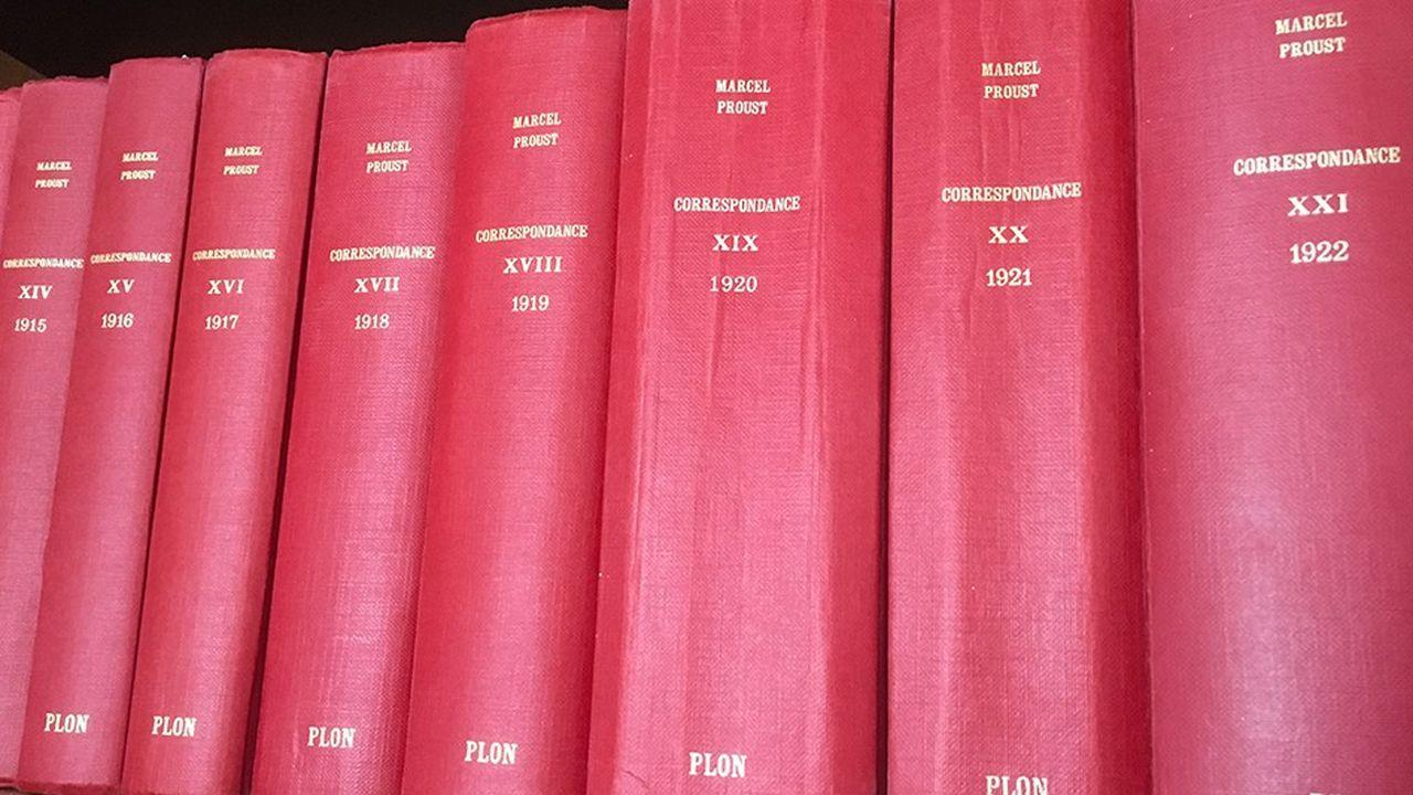 La mise en ligne de la correspondance de Marcel Proust commence, ce mardi, par les 200lettres que l'auteur d'«A la recherche du temps perdu» a envoyées de 1914 à 1918.
