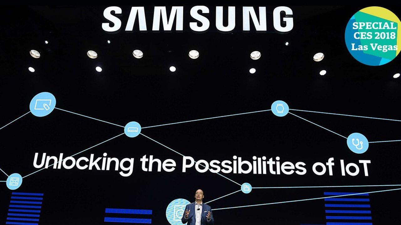 Samsung va équiper tous ses produits de son assistant intelligent