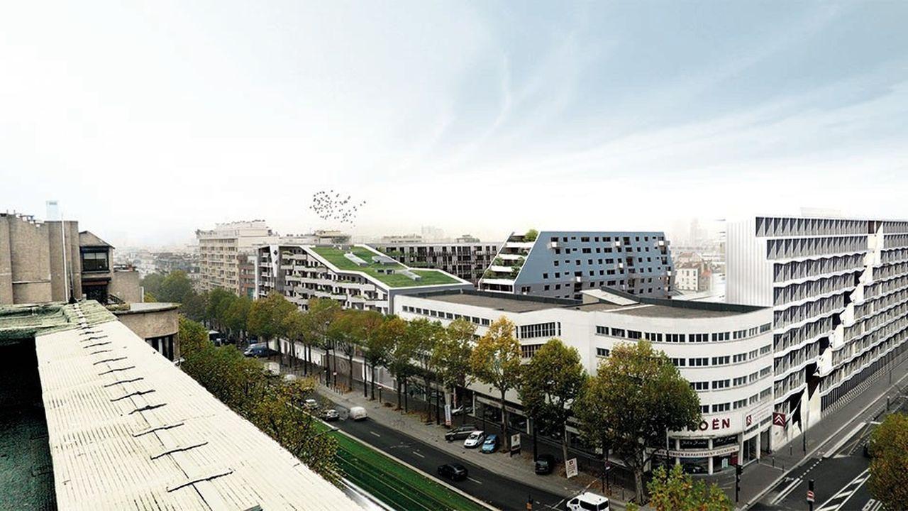 Imaginé par la RATP, ce morceau de ville de 1,8 hectare épouse les codes de la mixité d'usages chère aux urbanistes, en faisant cohabiter industrie, bureaux, logements et crèche