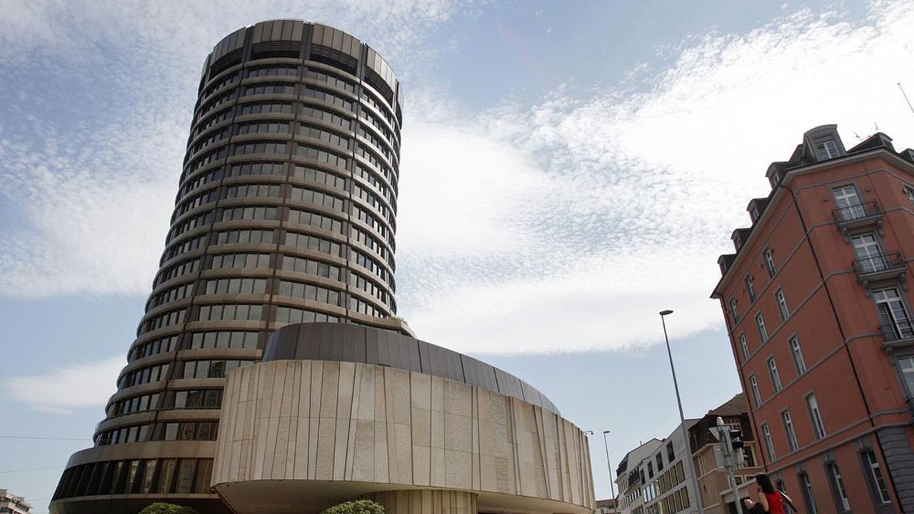 Le siège de la Banque des règlements internationaux, où est hébergé le Comité de Bâle.
