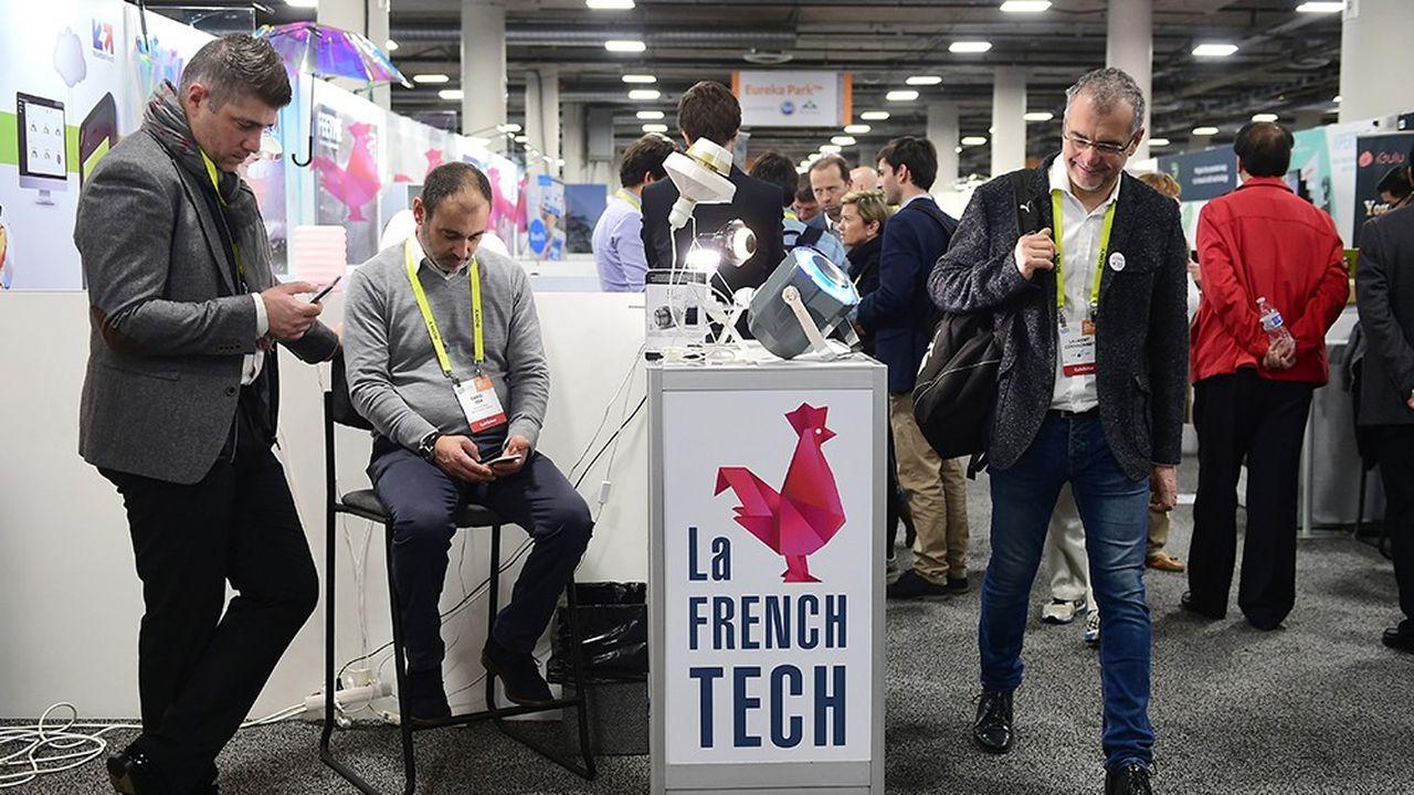 La section French Tech au Consumer Electronic Show (CES) 2017 de Las Vegas.