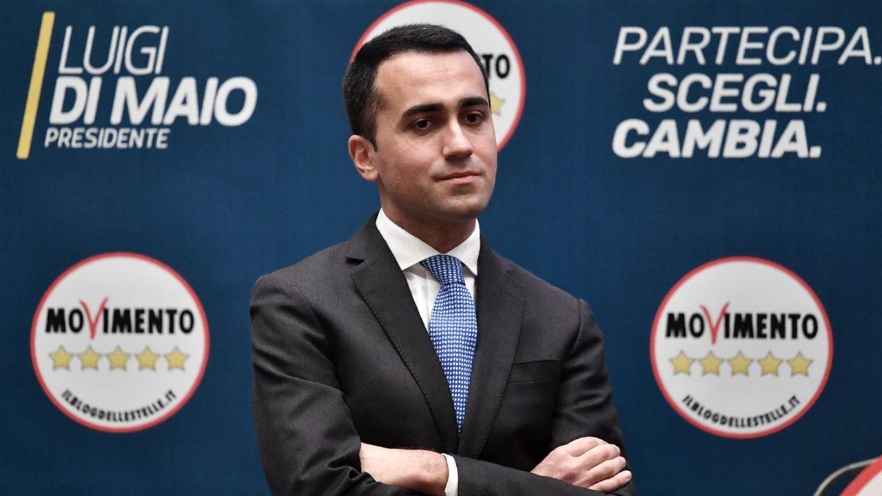 Luigi Di Maio, lors de la présentation des candidats du M5S aux législatives