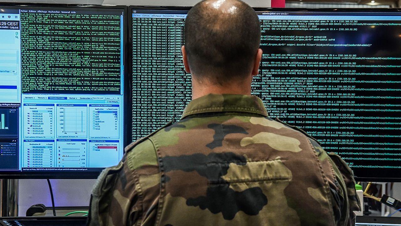 « La ministre des Armées, Florence Parly, a récemment annoncé qu'elle porterait le nombre de cybercombattants de 3.000 à 4.000 d'ici à 2025. »