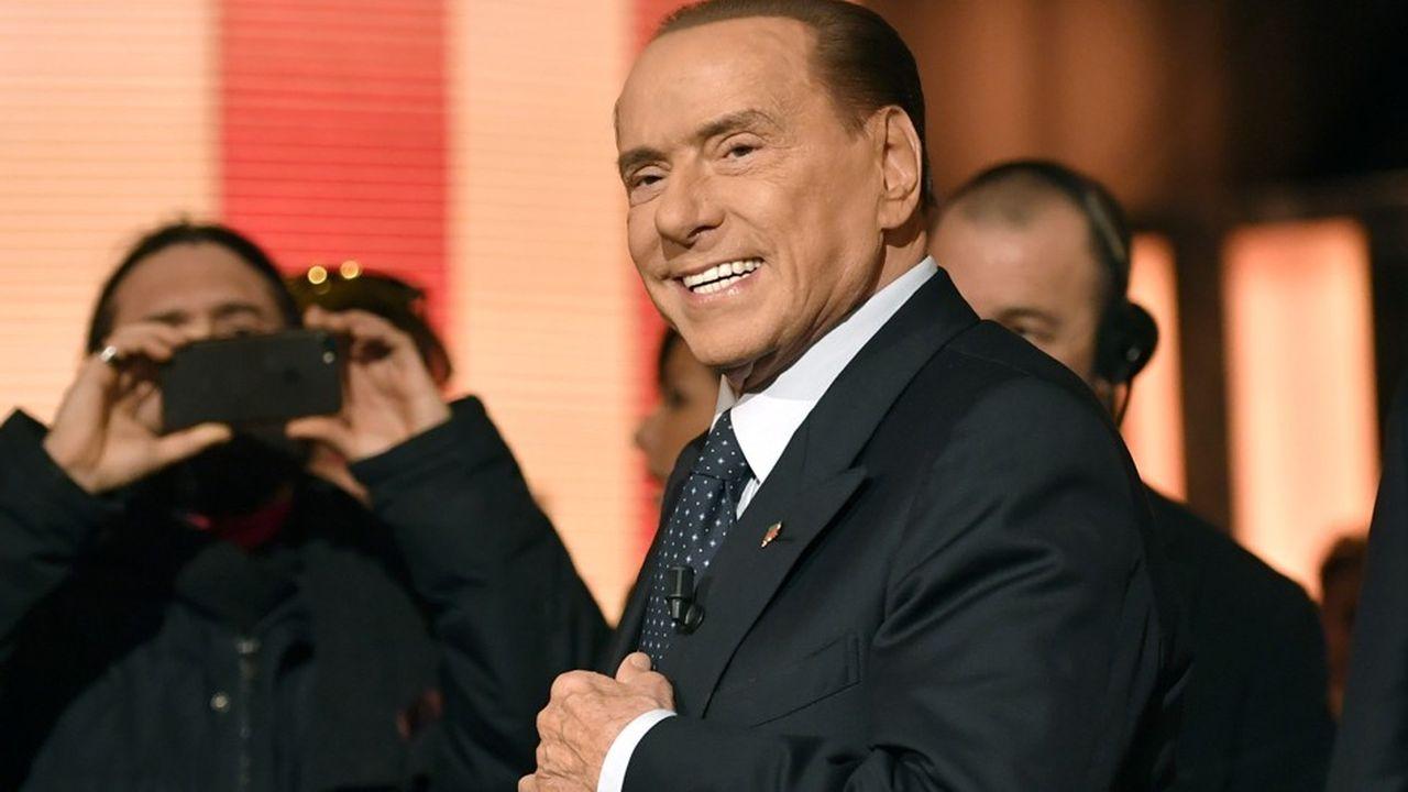 A 81ans, l'ancien président du Conseil italien, Silvio Berlusconi, à la tête de son parti Forza Italia, mène sa 7e campagne électorale