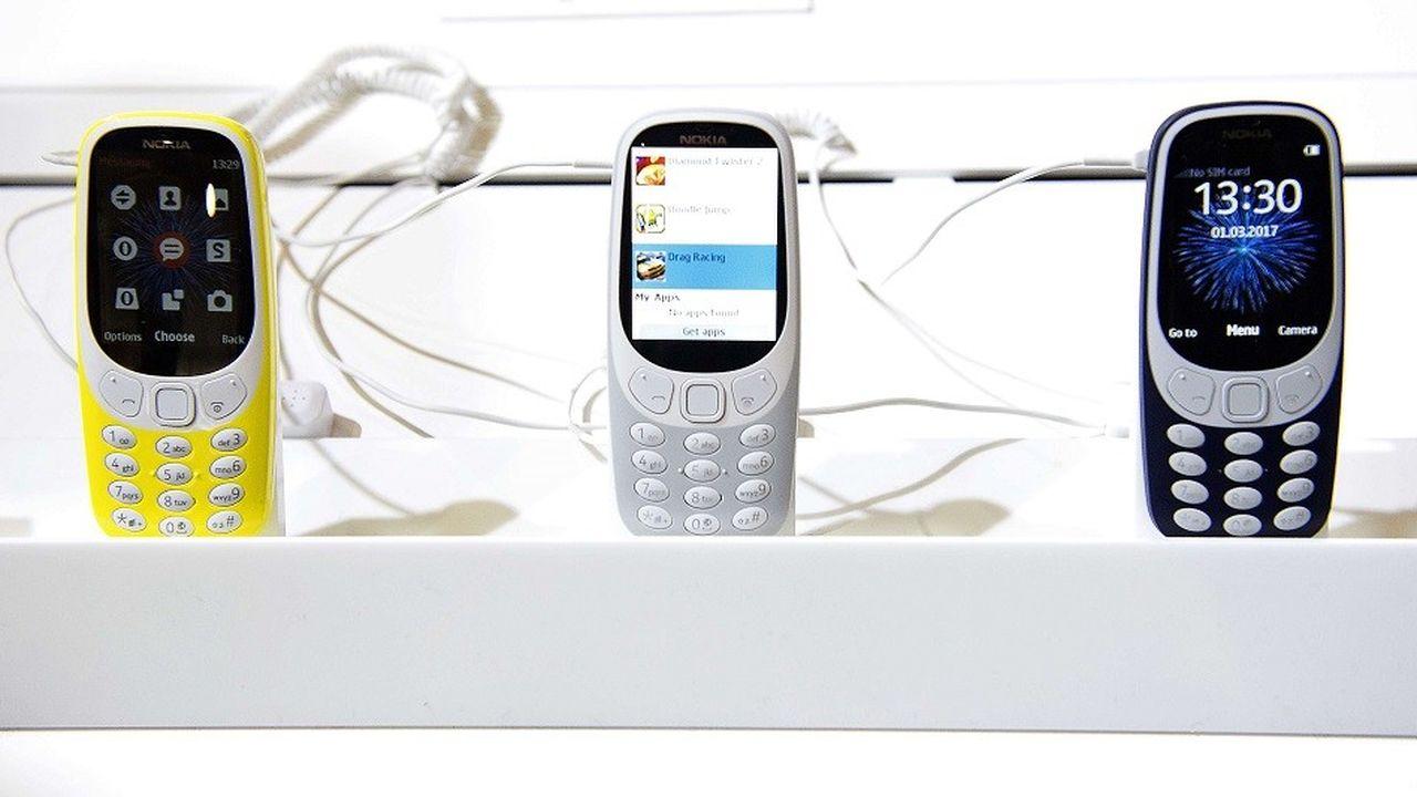 Des rééditions du téléphone Nokia 3310 ont été dévoilées en 2017.