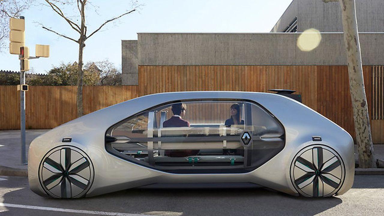 Renault dévoile son concept de robot-taxis