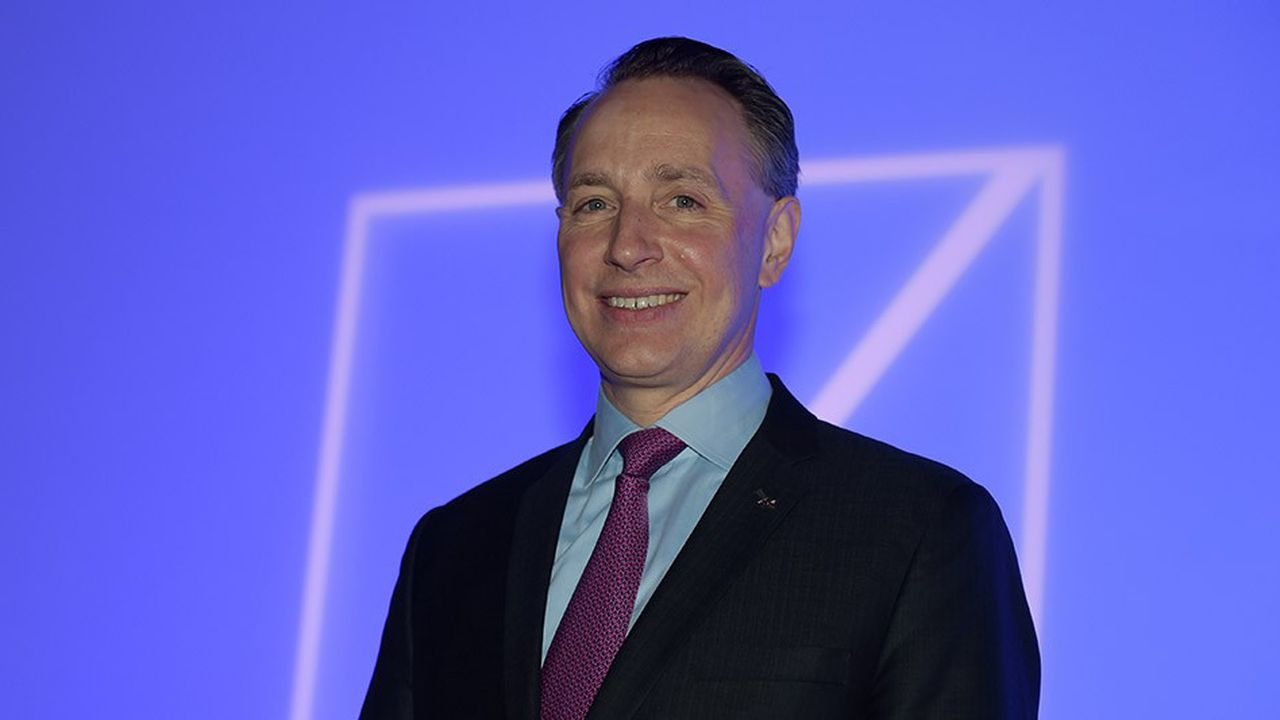 Le directeur général du groupe Axa, l'allemand Thomas Buberl.