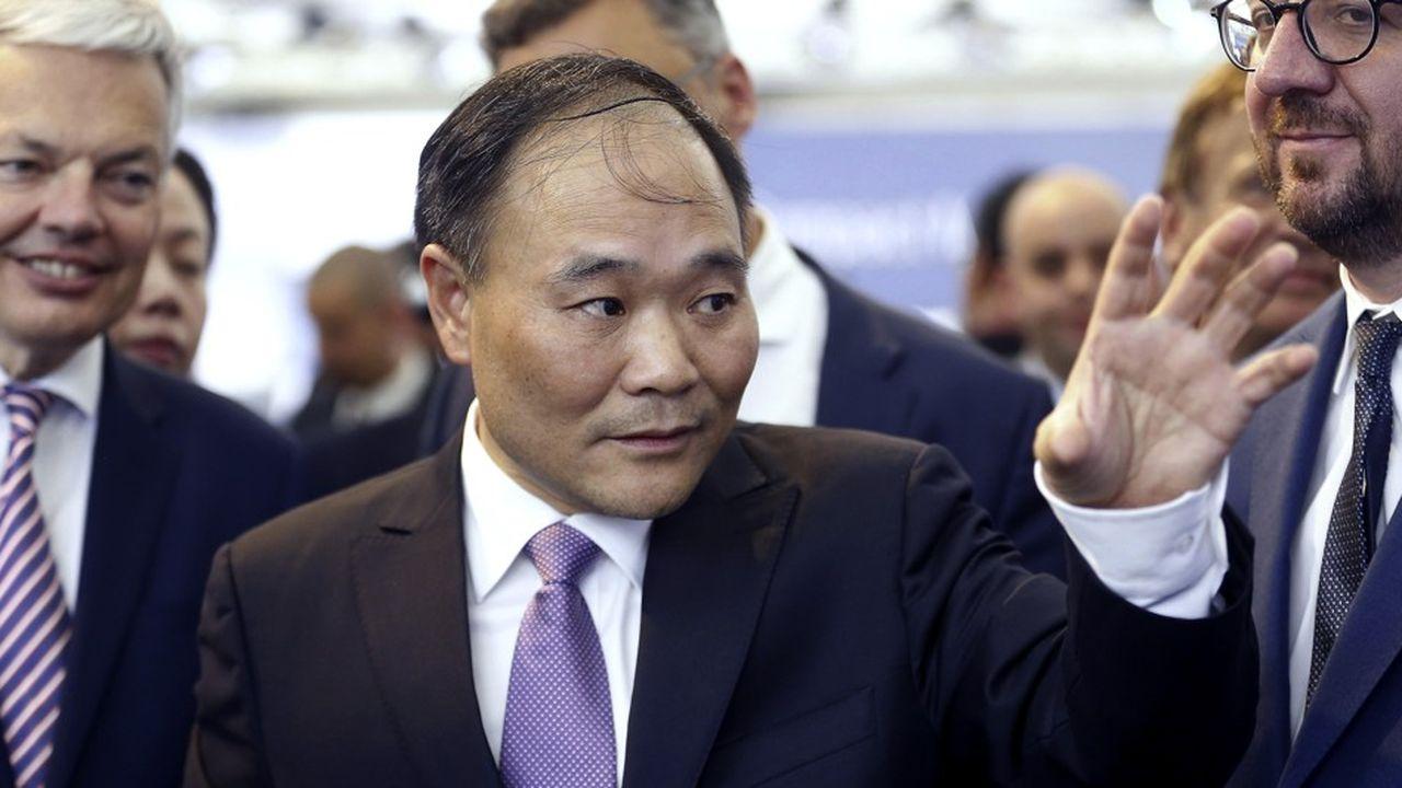 Li Shufu, directeur général de Geely, a créé la suprise en s'invitant dans le capital de Daimler, maison mère de Mercedes Benz
