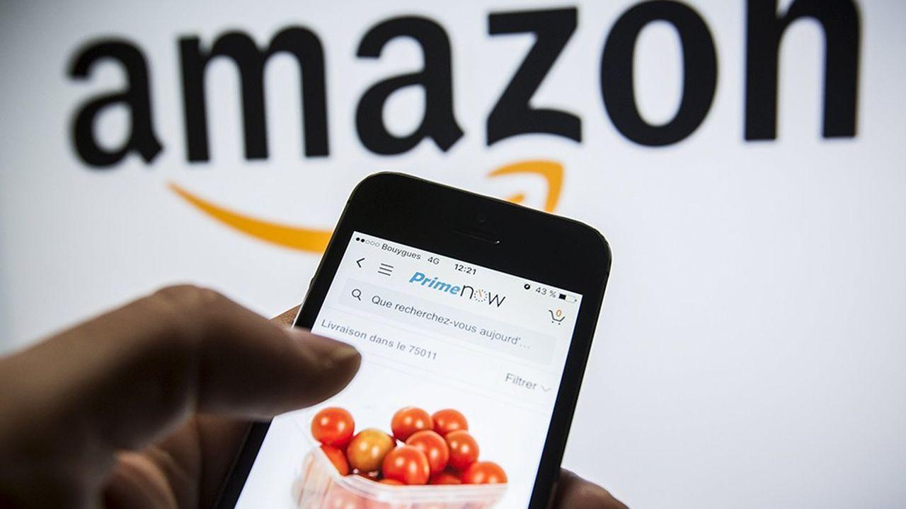 Amazon a lancé la livraison en une heure dans la capitale.