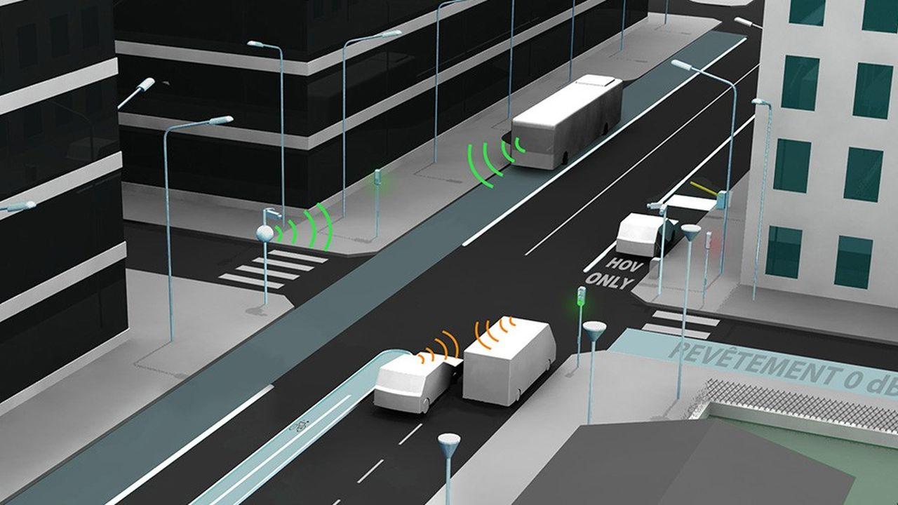 Transpolis va permettre d'expérimenter de nouvelles solutions de mobilité, notamment pour les véhicules autonomes connectés à leur environnement.