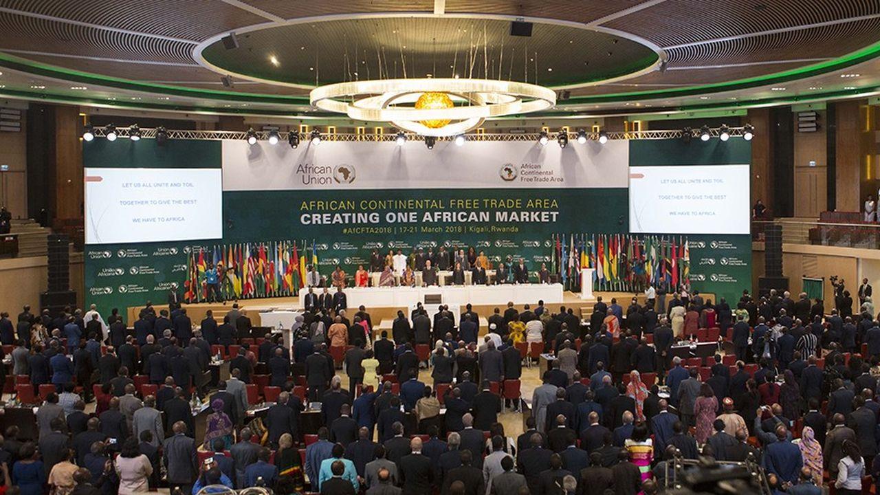Quarante-quatre chefs d'Etat africains y ont signé un accord historique scellant la création d'une immense zone de libre-échange continentale.