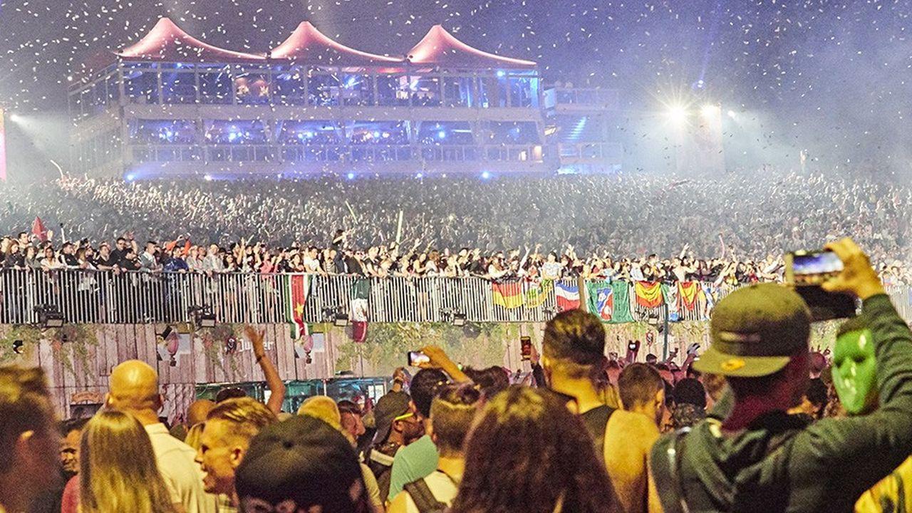 Le festival «Tomorrowland», en Belgique.