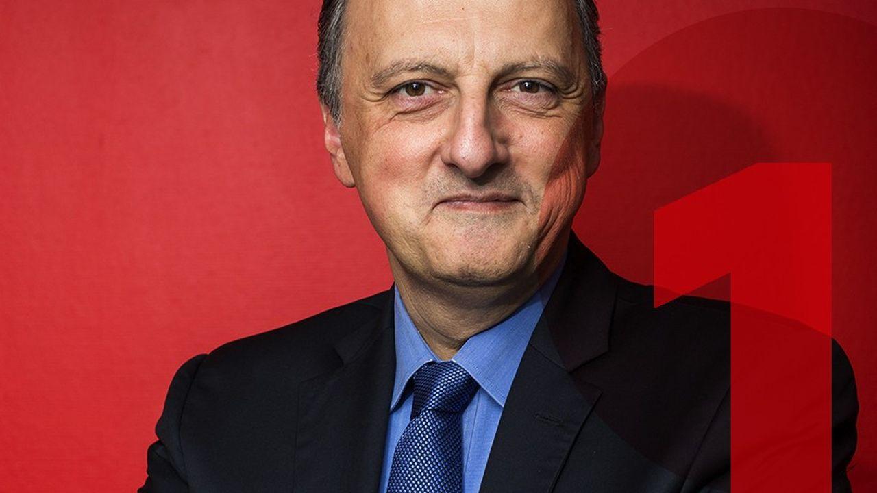 Bernard Sananès, le président d'Elabe.