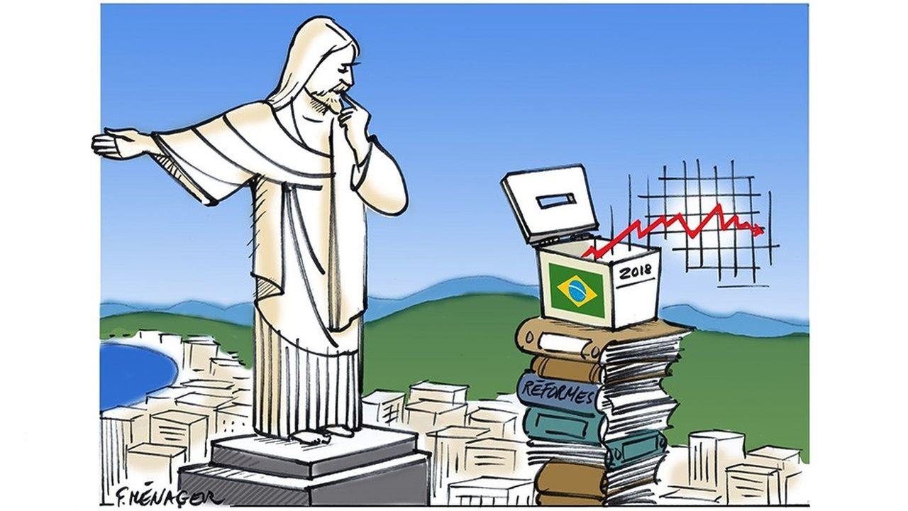 Au Brésil, une reprise fragilisée par l'incertitude politique